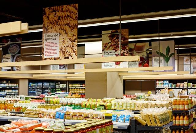 Supermercados en Barcelona