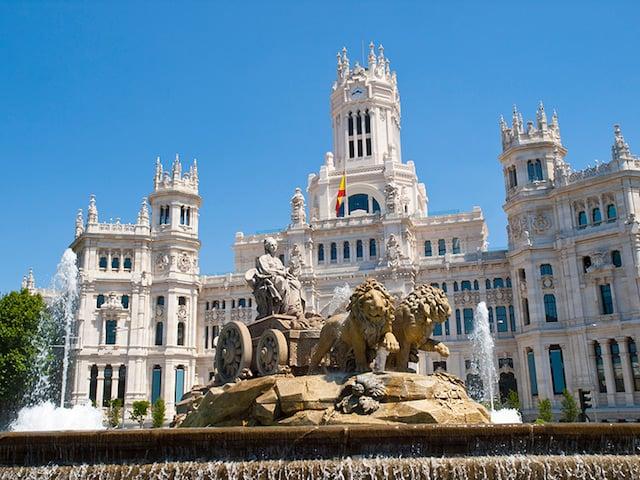 Puntos turísticos de Madrid