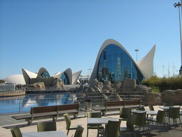 Ciudad de las Artes y Ciencias en Valencia