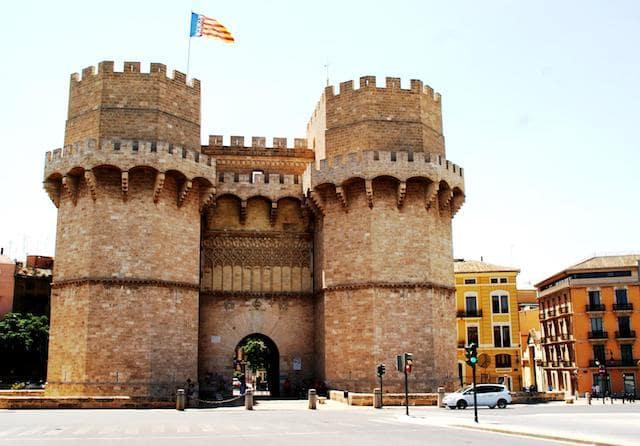 Torres de Serranos en Valencia