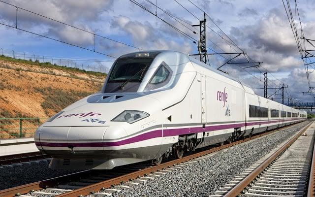 Viaje en tren por Madrid y España