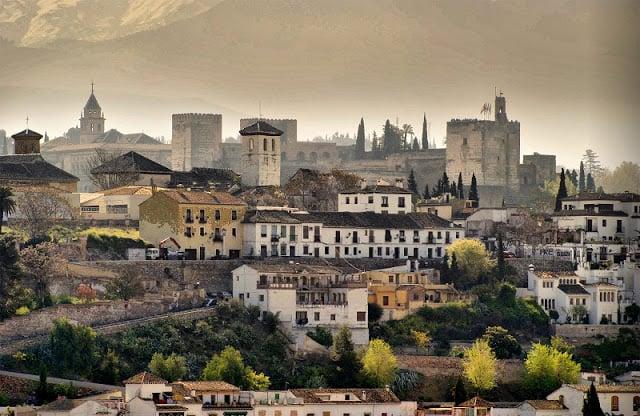 Puntos turísticos en Granada