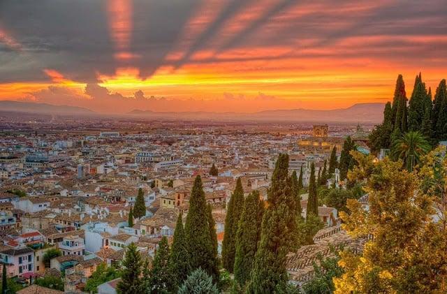 Itinerario de un día en Granada