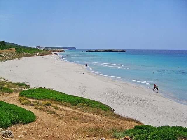 Las mejores playas en Menorca