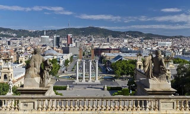 10 Parques y jardines en Montjuic de Barcelona