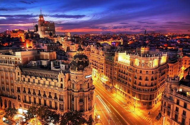Viaje en automóvil de Barcelona a Madrid
