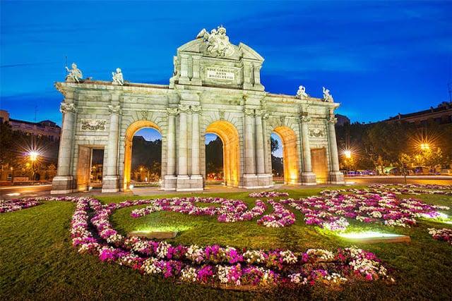 Luna de miel en Madrid