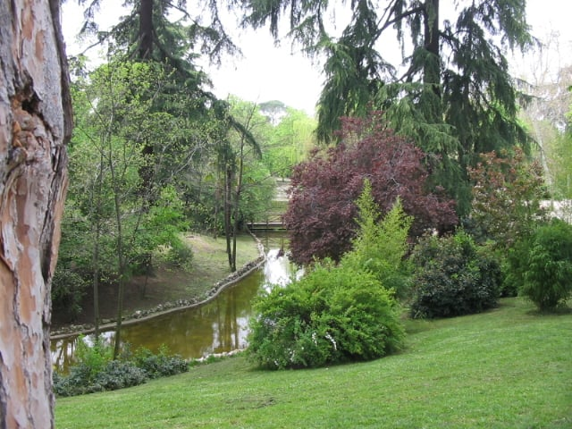 Jardines del Retiro en Madrid