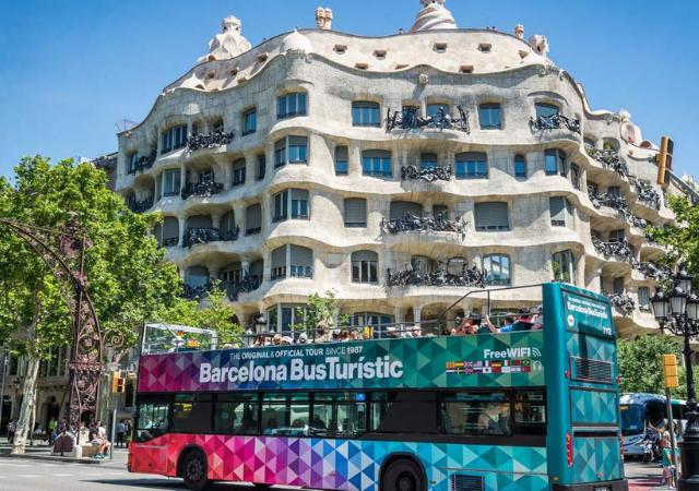 Billetes para el Bus Hop On Hop Off en Barcelona