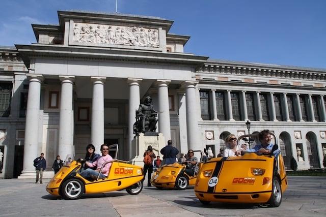 Tour con GoCar por Madrid