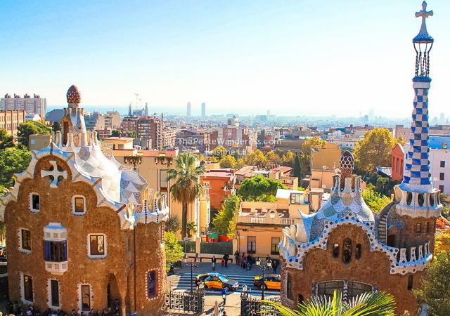 Entradas para el Park Güell en Barcelona