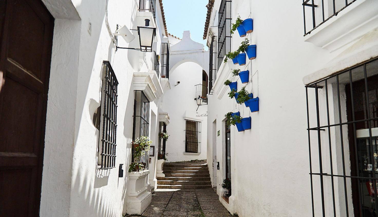 Casas típicas en el Poble Espanyol