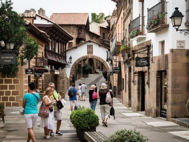 Poble Espanyol en Barcelona