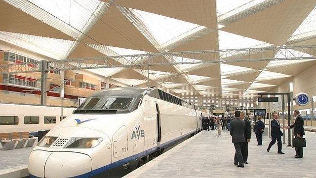 Viaje en tren de Zaragoza a Barcelona