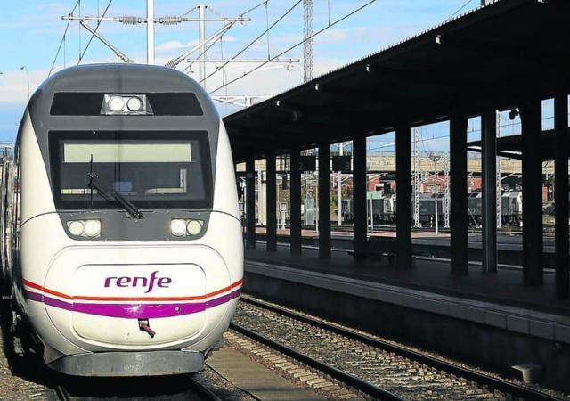 Viaje en tren de Salamanca a Madrid
