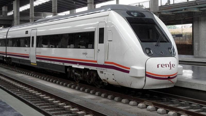 Viaje en tren de Segovia a Madrid
