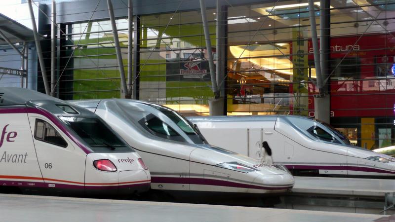 Viaje en tren de Málaga a Madrid