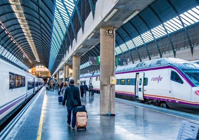 Viaje en tren de Sevilla a Madrid