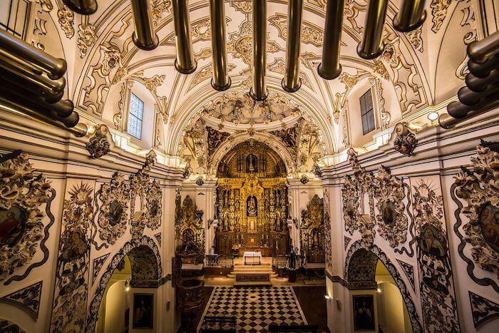Iglesia de los Descalzos en Ecija