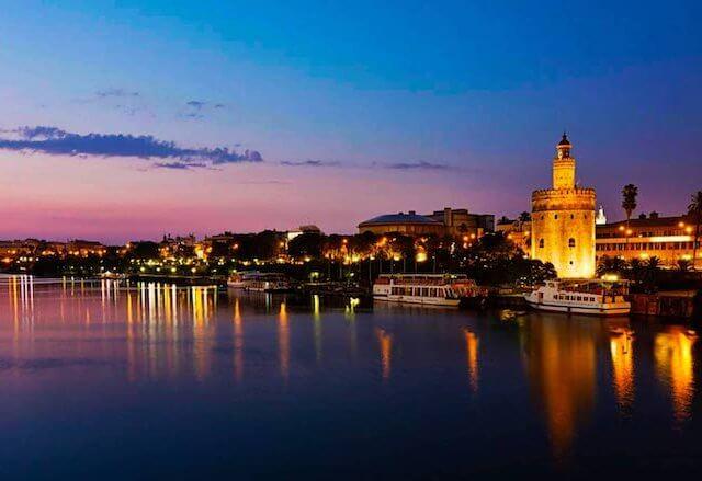 Ciudades cerca de Sevilla