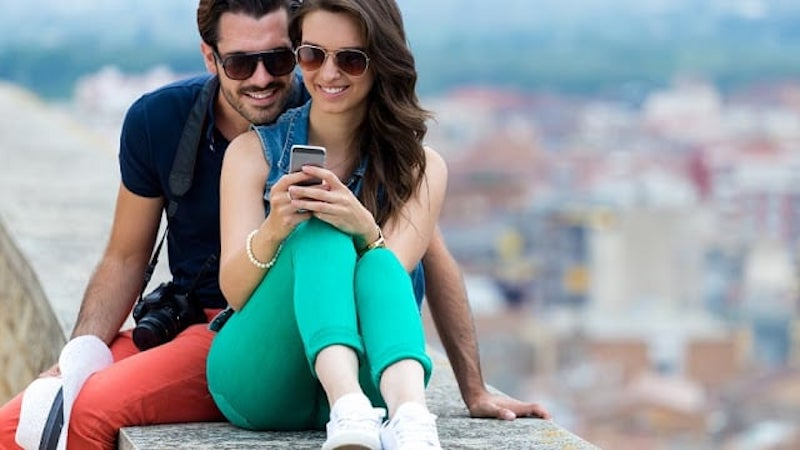 Usar el celular en Barcelona
